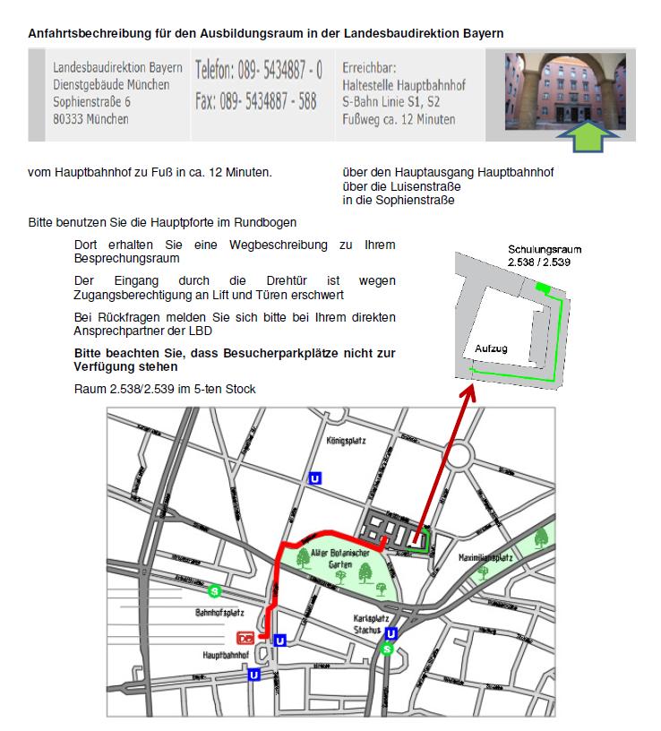 Räumlichkeiten München